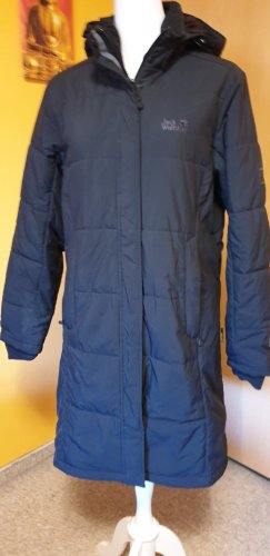 Jack Wolfskin Quilted Coat black polyester