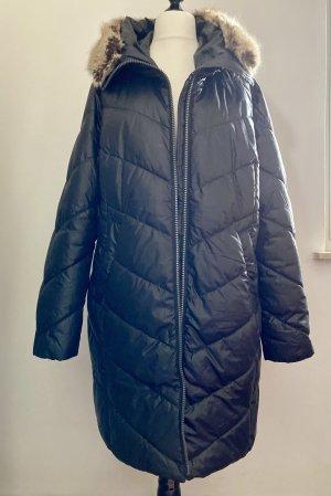 Taifun Gewatteerde jas zwart