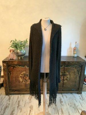 Zadig & Voltaire Manteau en tricot noir