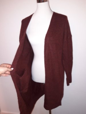 Only Fashion Knitted Coat bordeaux