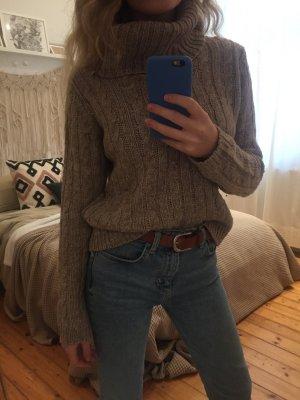 Warmer Wollpullover