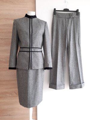 C2C Three Piece Suit multicolored wool