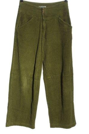 Waschbär Falda pantalón de pernera ancha caqui look casual