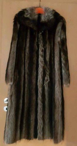 Floor-Lenght Coat multicolored