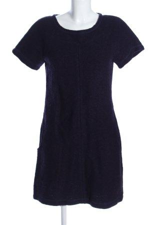 Waschbär Vestito di lana blu stile casual