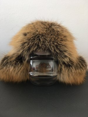 Fur Hat black-brown