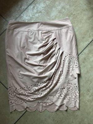 Alba Moda Spódnica midi stary róż