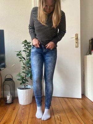 Washed Jeans von Tommy Hilfiger Gr.28/32 Mid Blue Natalie