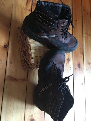 Rieker Korte laarzen donkerbruin-zwart