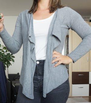 H&M Bolero lavorato a maglia grigio chiaro-grigio