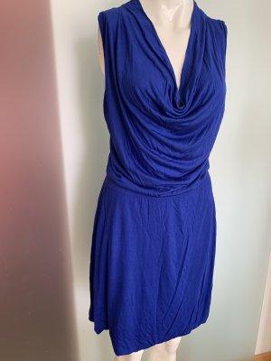 H&M Sukienka dresowa niebieski
