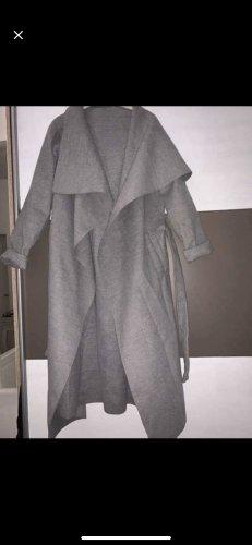 Amazon fashion Abrigo largo gris