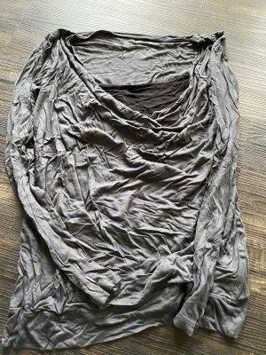 edc by Esprit Koszulka z dekoltem woda czarny-szary