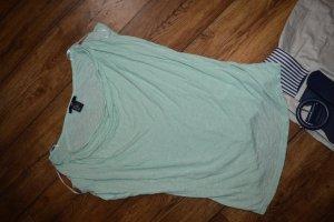 Wasserfall shirt in mint Gr. 36 von H&M