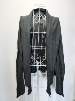 SMOG Giacca in maglia grigio scuro