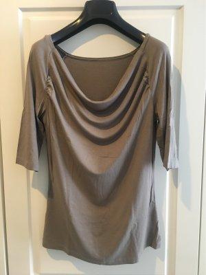 More & More Waterval shirt grijs-bruin