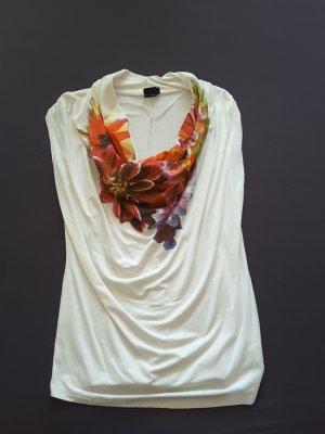 Bodyflirt Koszulka z dekoltem woda Wielokolorowy Wiskoza