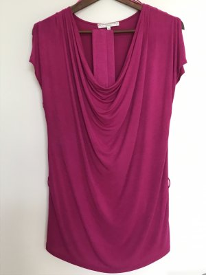 Cowl-Neck Top violet