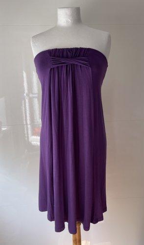 Watercult Bandeau Kleid kurz lila