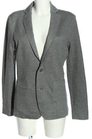 Watsons Blazer de tela de sudadera gris claro moteado look casual