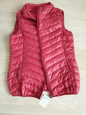 Blue Motion Quilted Gilet red synthetic