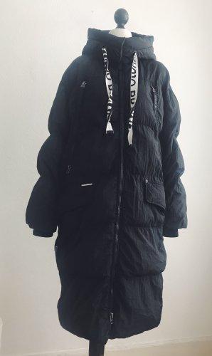 Khujo Down Coat black-white