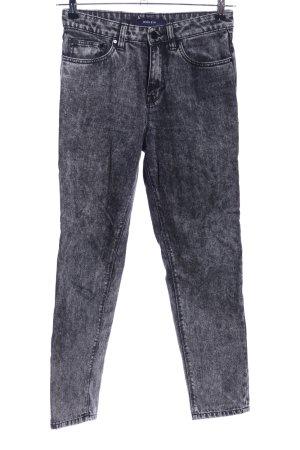Waven High Waist Jeans schwarz meliert Casual-Look