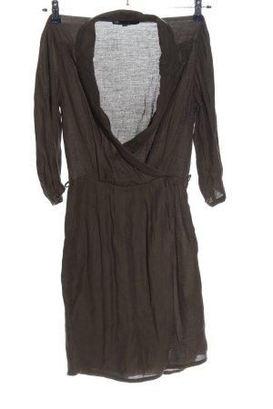 WE A-Linien Kleid braun Casual-Look