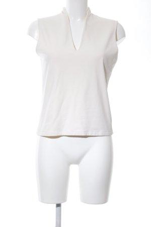 WE Top basic bianco sporco stile professionale