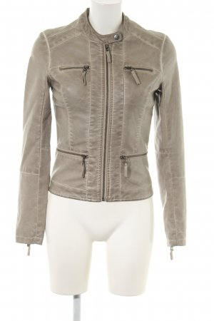 WE Bikerjacke wollweiß Casual-Look