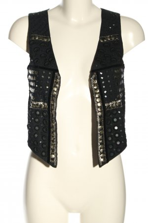 WE Fashion Gilet nero stile casual