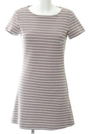 WE Fashion Kurzarmkleid mehrfarbig Casual-Look
