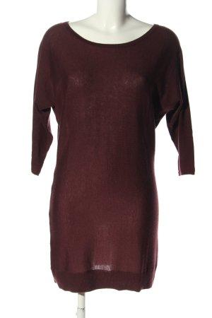 WE Fashion Longpullover braun Casual-Look