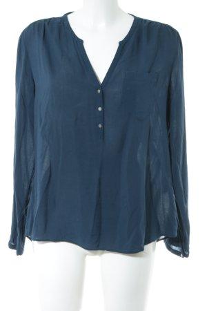 WE Fashion Tunikabluse blau Business-Look