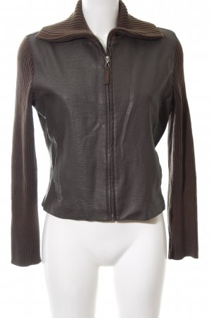 WE Flight Jacket brown casual look