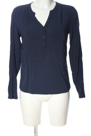 WE Hemd-Bluse blau Casual-Look