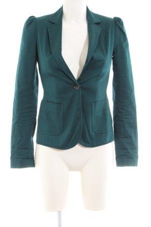 WE Kurz-Blazer grün Business-Look