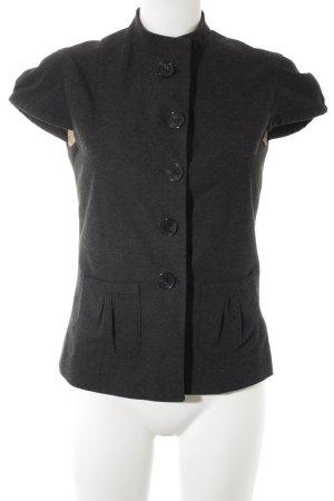 WE Short Sleeved Blouse dark grey casual look