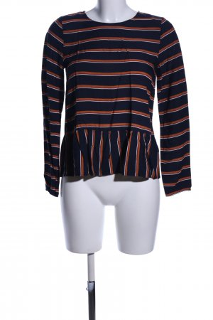 WE Langarm-Bluse Streifenmuster Casual-Look