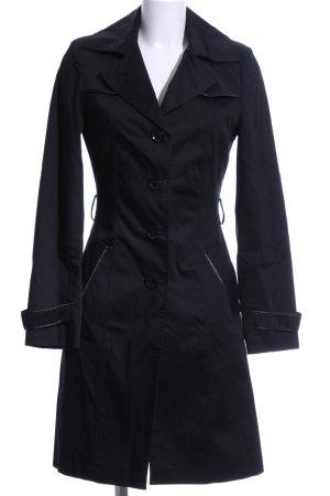WE leichter Trenchcoat schwarz, elegant