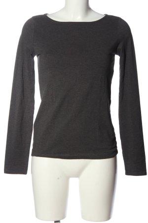 WE Lang shirt zwart gestippeld simpele stijl