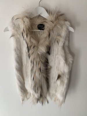 We Love Furs Veste en fourrure multicolore