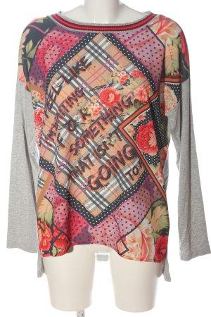 We love XOX Long Shirt flecked casual look
