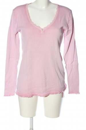 We love XOX Knitted Jumper pink casual look