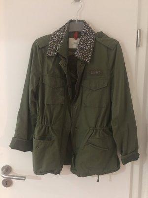 Malvin Heavy Pea Coat dark green