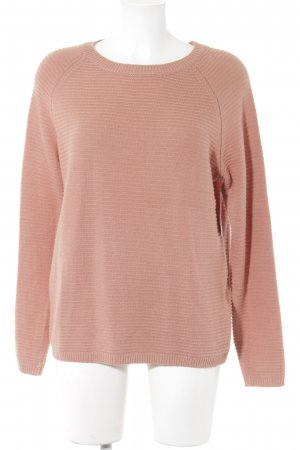 WE Strickpullover apricot Casual-Look
