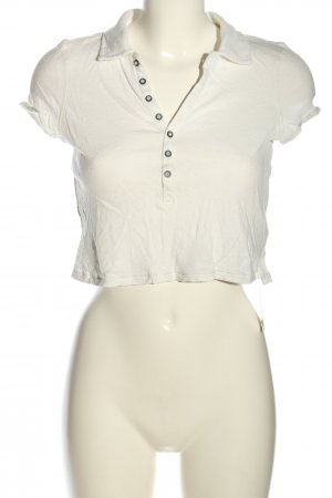 We the free Camicia cropped bianco stile casual