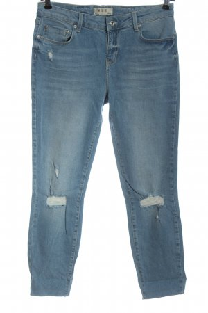 We the free Slim jeans blauw casual uitstraling