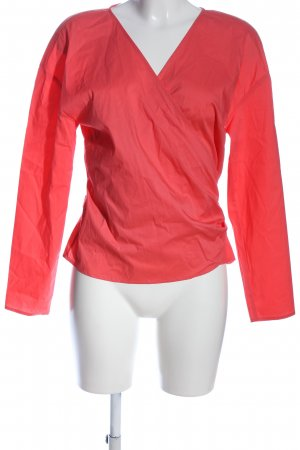 WE Wickel-Bluse rot Casual-Look