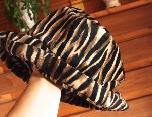 Vintage Pamela beige-negro piel artificial